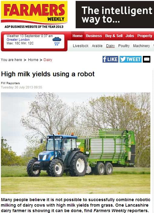 Farmers Weekly - Greenforage Forage Wagon - GreenForage Ltd