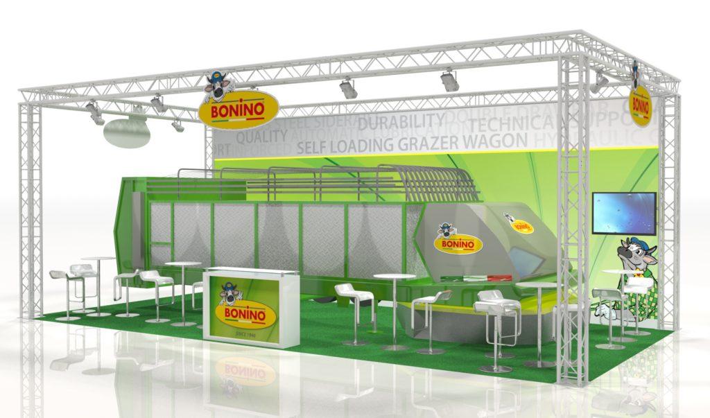 Green Forage Livestock Stand design