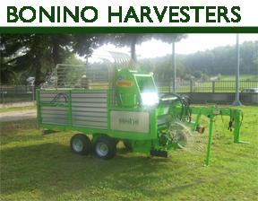 Bonino lavander harvester
